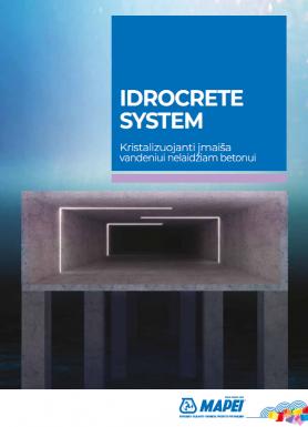 Idrocrete System