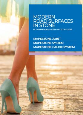 MAPESTONE SYSTEM - grindinių montažinė sistema ir siūlių užpildai