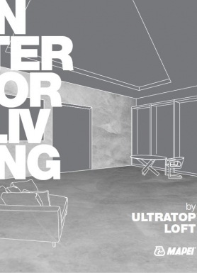 ULTRATOP LOFT - cementinė dekoratyvinė grindų ir sienų danga