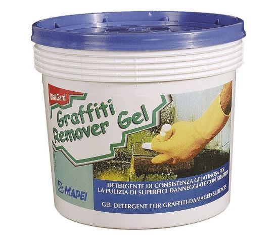 ANTI-GRAFFITI WallGard Graffiti Remover Gel