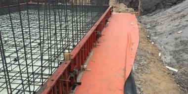 Baseino išorės konstrukcijos hidroizoliacija, Palanga, Lietuva